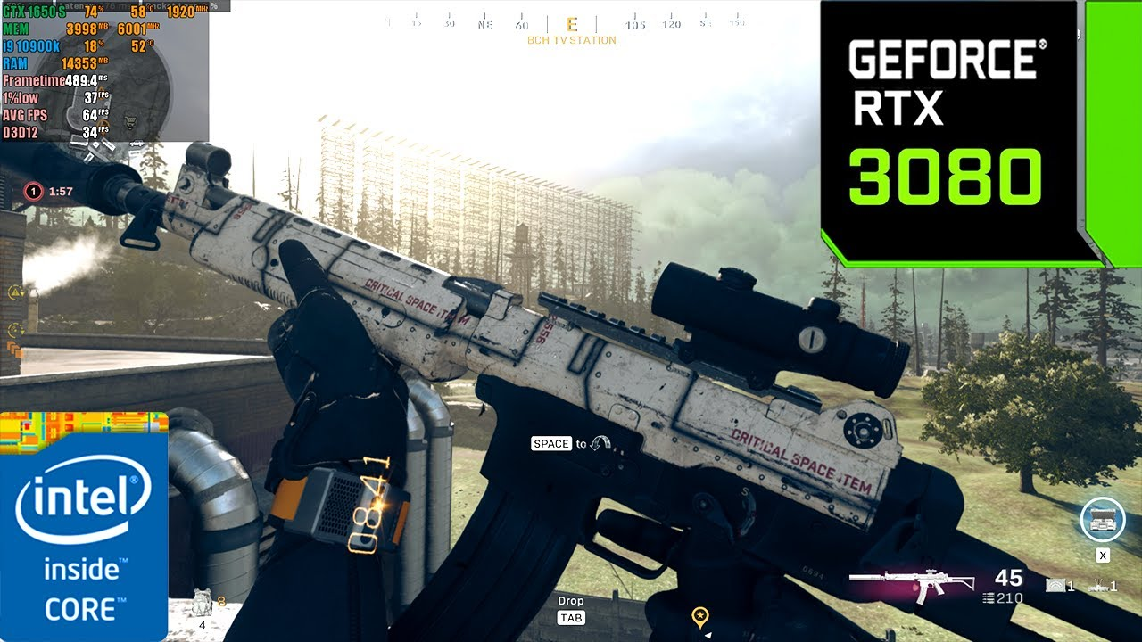 Call of Duty : Warzone Battle Royale | RTX 3080 10GB ( 4K Maximum Settings Ray Tracing OFF  )