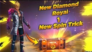 FREE FIRE NEW DIAMOND ROYAL BEAST ARM MUTANT MALE BUNDLE IN ONE SPIN