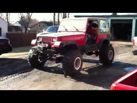 V8 chevy 350 jeep wrangler