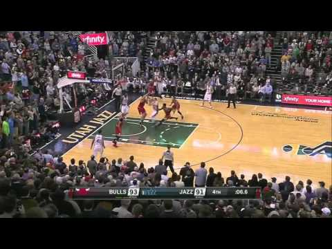 Chicago Bulls vs Utah Jazz | February 1, 2016 | NBA 2015-16 Season