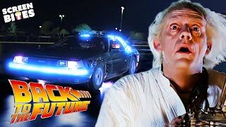 """A Time Machine... Out Of A DeLorean?"" | Back To The Future | SceneScreen"