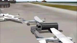 Flight Simulator 2000: Formation Flight at Chicago