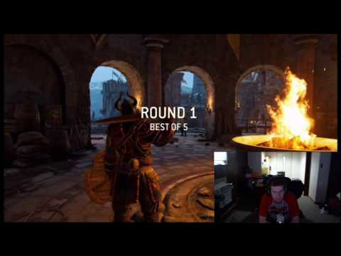 Getting Destroyed in my For Honor Tournament
