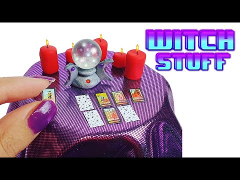 DIY Miniature ✫ Witch Stuff ✫ Tutorial | Crafts thumbnail