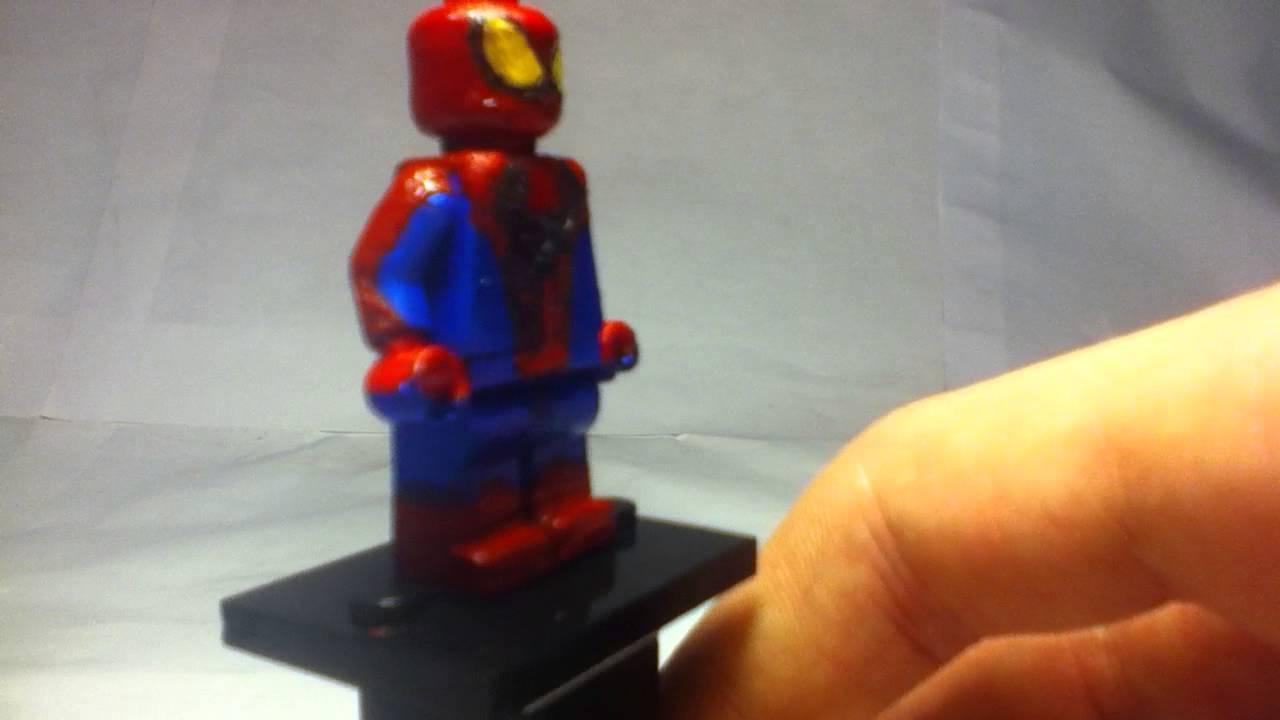 Custom lego amazing spider man minifigure showcase youtube - Lego the amazing spider man 3 ...