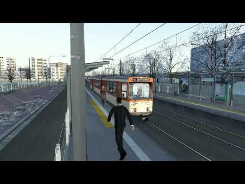 Train-Simulator (U-Bahn Frankfurt)