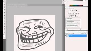 (Tutorial) #4: Делаем прозрачный фон у картинки в Adobe Photoshop(В этом туториале я покажу как сделать прозрачный фон у любой картинки (в моём случае Trollface) в программе Adobe..., 2012-05-08T19:02:20.000Z)