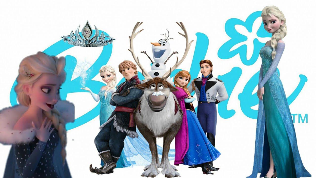 Diy Elsa dress from Olaf's frozen adventure [Karlar ülkesi Olaf'ın macerası Elsa kıyafeti] ❄👗✂🎥