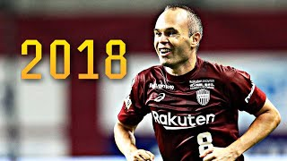 Andres Iniesta 2018 - Skills & Goals in Japan ● Vissel Kobe |HD|