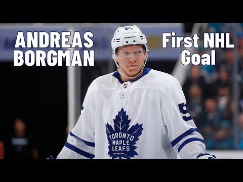 Andreas Borgman (Toronto Maple Leafs) first NHL goal 30.10.2017