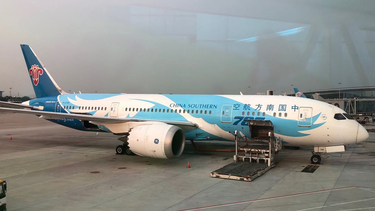 China Southern Airlines Boeing 787-9 Dreamliner Economy