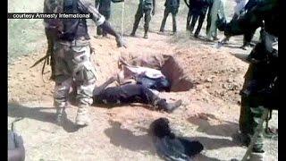 Nigéria : ils ont dû creuser leur propre tombe
