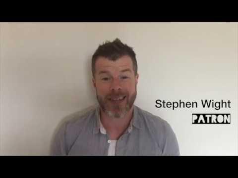 Patron Stephen Wight discusses the LET Bursary