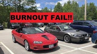 Camaro Cruise and burnouts