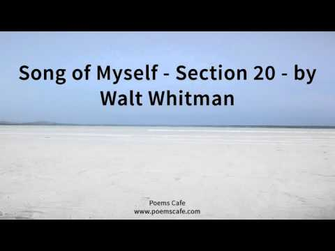 Song of Myself   Section 20   by Walt Whitman