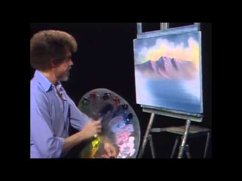 Bob Ross Remixed | Happy Little Clouds 10 Hours