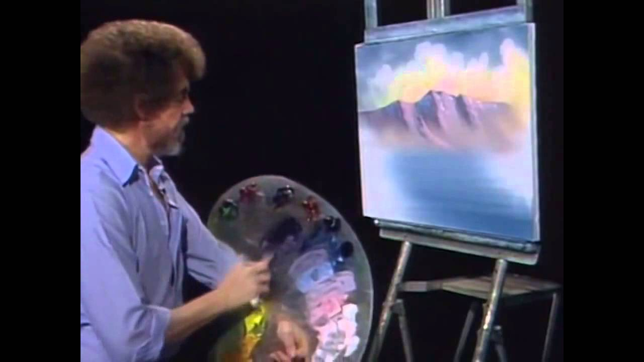 Bob Ross Remixed | Happy Little Clouds 10 Hours - YouTube