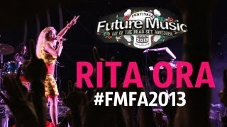 Rita Ora @ Future Music Festival Asia 2013 [HD]