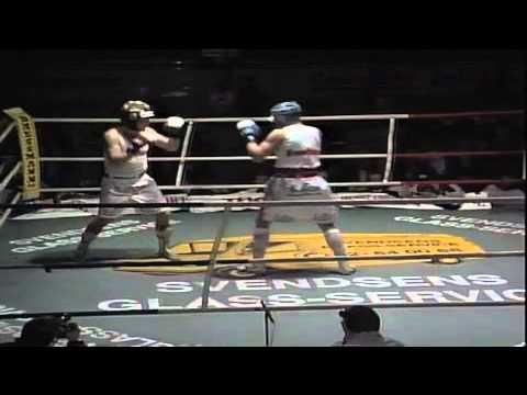 Roar Petajamaa vs Arve Breidal, Finale Nordic boxing championships 1992 Oslo Spektrum Norway