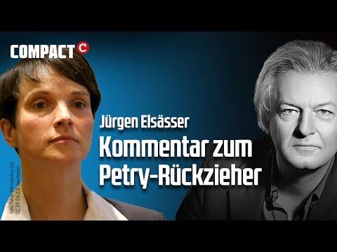 """Elsässers Videokommentar: """"Petrys Rückzieher als Chance"""""""