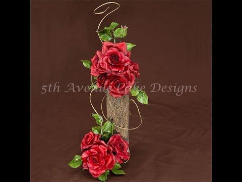 How To Make a Gumpaste Rose