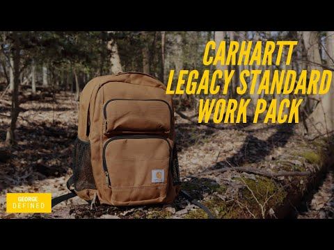 8c71e3bce06 Carhartt Legacy Standard Work Pack Hard Use Everyday Carry EDC For The  Working Man!
