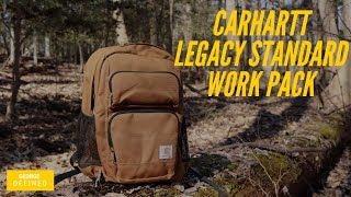 Carhartt Legacy Standard Work Pack Hard Use Everyday Carry EDC For The Working Man!