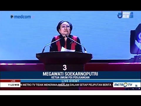 Megawati Sedih Saat Ungkap Penderitaan PDIP di Masa Lalu