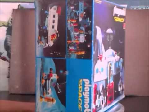 Playmobil nave espacial 13536 vintage youtube for Nave espacial playmobil