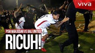 Gagal Juara, Suporter PSM Timpuki Pemain Bali United