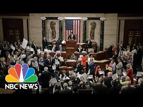 House Representatives Chant As Speaker Paul Ryan Calls For A Vote | NBC News