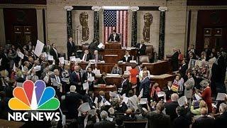 House Representatives Chant As Speaker Paul Ryan Calls For A Vote   NBC News