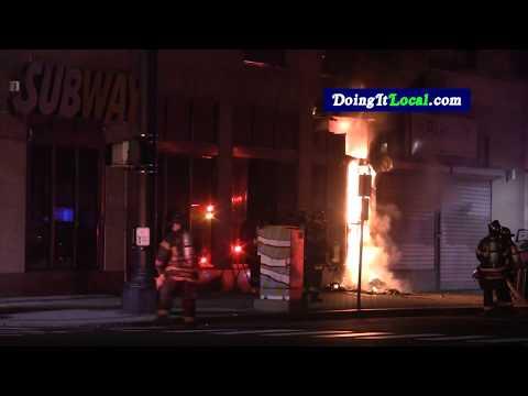 Bridgeport News: Fire At Downtown Subway