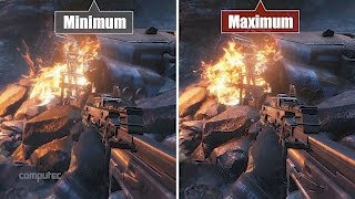 Titanfall 2: Grafikvergleich - PC-Fassung Min vs. Max