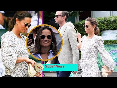 Pregnant Pippa Middleton Arrives at Wimbledon with a Surprising New Hair Trend