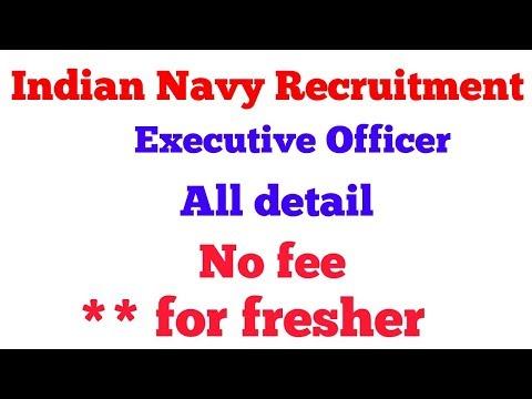 Nausena Bharti Indian Navy Recruitment –  Officers