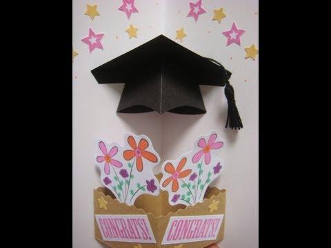 Origami Graduation Hat Tutorial - Paper Kawaii | 360x480