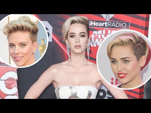 Why Katy Perry Stole Miley Cyrus and Scarlett Johansson's Look | Splash News TV