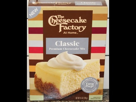 The Cheesecake Factory At Home: Classic Premium Cheesecake Mix – Preparation & Review