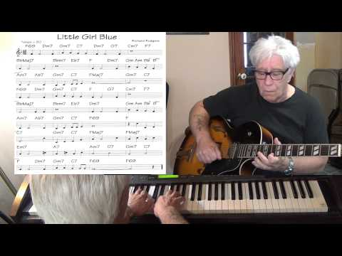 Little Girl Blue - guitar & piano Jazz cover ( Richard Rodgers ) Yvan Jacques