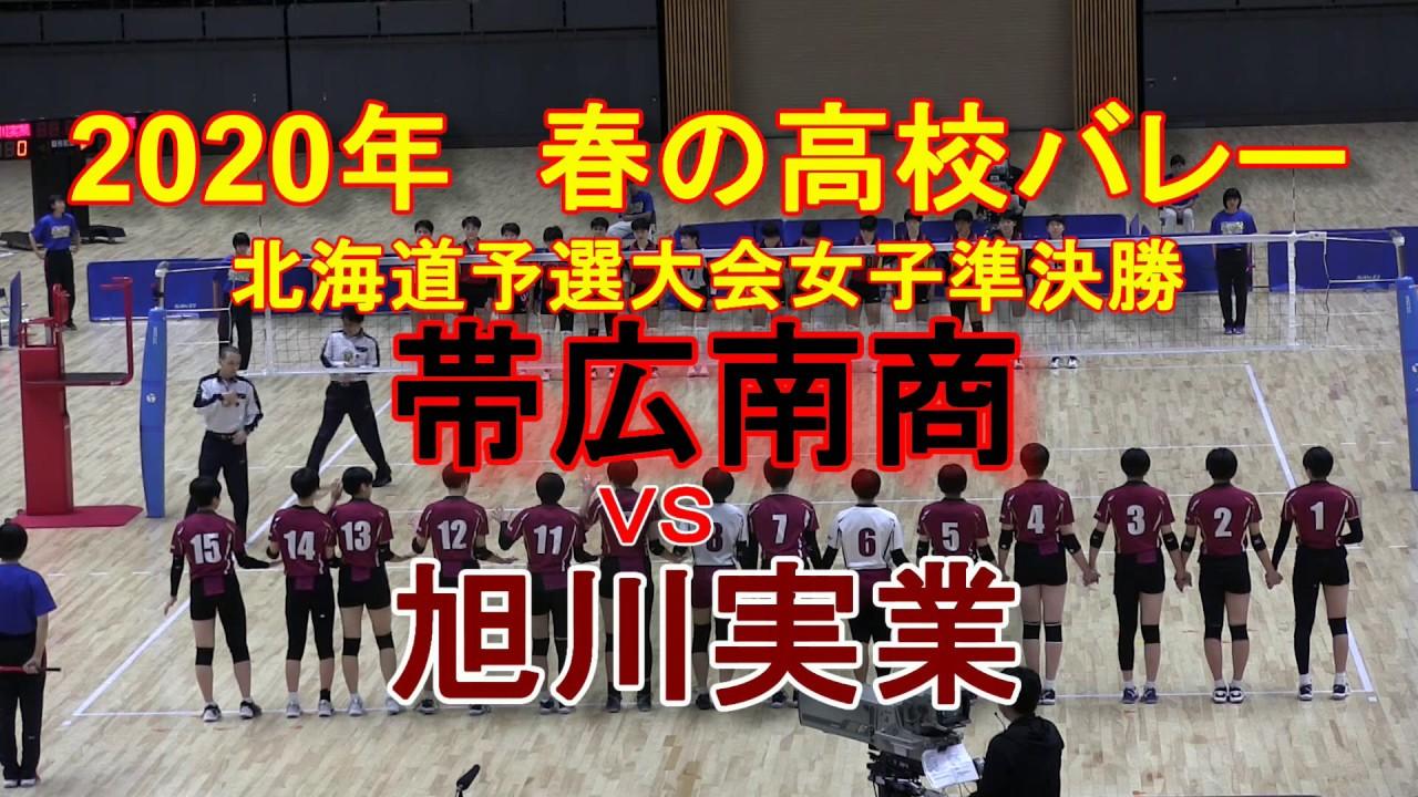 春 高校 バレー 2020 北海道