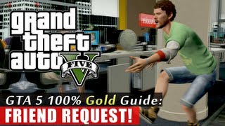 GTA 5 Walkthrough: Friend Request (100% Gold Completion) HD