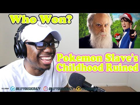 Ash Ketchum Vs Charles Darwin Epic Rap Battles Of History REACTION! THE POKEMON WAS SLAVE