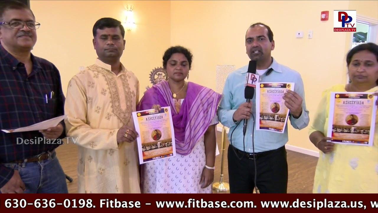 """Gopal Ponangi speaks during """"Oh Life - Relax Please"""" - Swami Sukhabodhananda"""