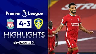 Salah bags hat-trick in SEVEN goal thriller! | Liverpool 4-3 Leeds | Premier League Highlights