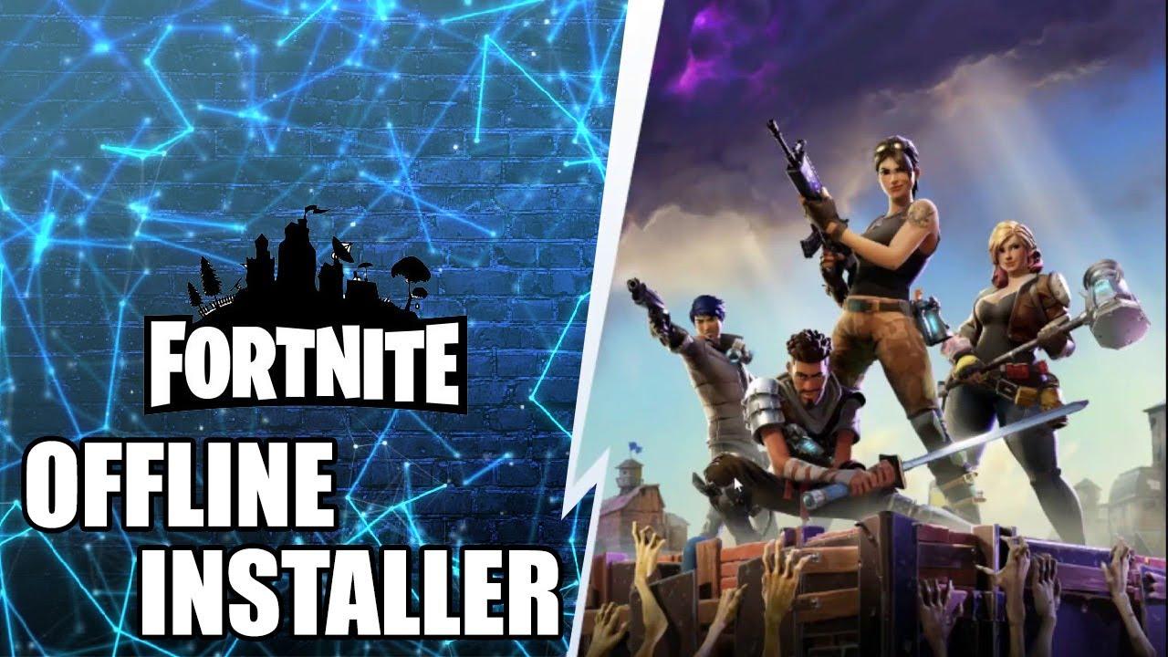 download fortnite pc offline installer