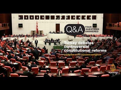 Turkey debates controversial constitutional reforms - Q&A
