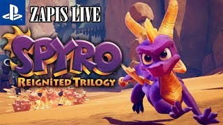 ZAPIS LIVE: Spyro Reignited Trilogy | PS4 | Gameplay | Year of the dragon