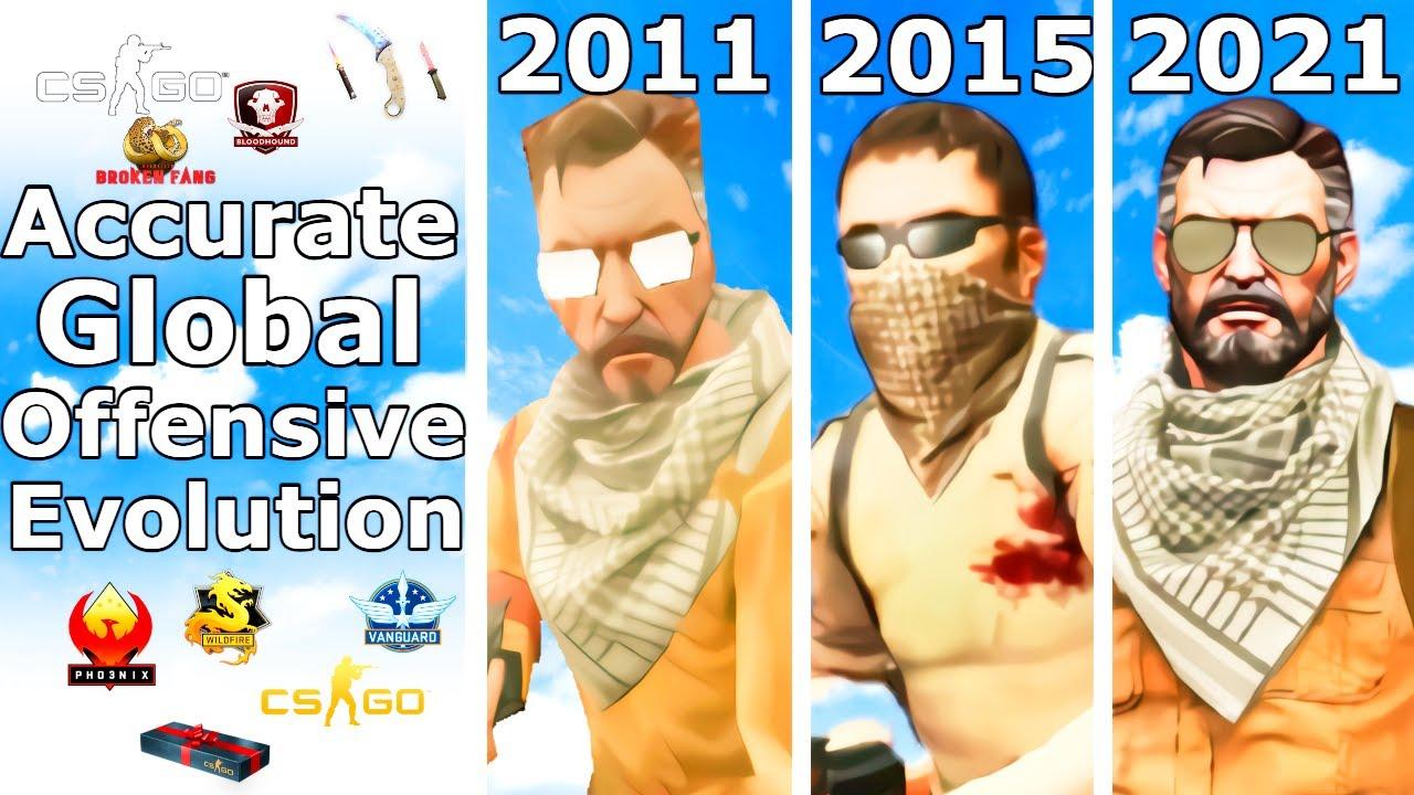 CS:GO's 10-year Evolution