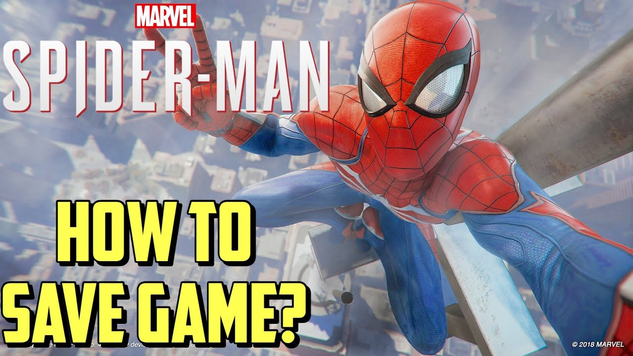 Spider-Man PS4: How To Save Game?